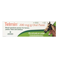 Telmin Horse Wormer Paste 20 gm 1 SYRINGE
