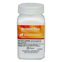 Drontal Plus for Dogs Flavor 2 TABLET