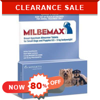 Milbemax is a broad-spectrum anthelmintic drug for treating and controlling all kinds of gastrointestinal worms including heartworms. Shop now for extra discount and free shipping at BudgetPetCare.com