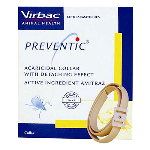 Preventic Tick Collar Fits All. 2 PIECE