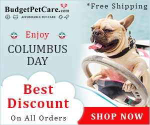 Discover New World of Savings at BudgetPetCare.com! Save 12% Extra + Free Shipping on Everything Today. Use Coupon: SAILOR12
