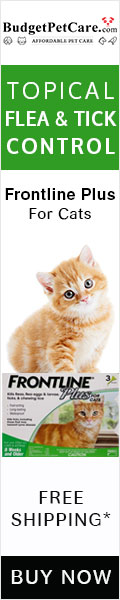 Save More on Frontline Plus Cats ✯ Free Shipping ✯Avail Free Doses ✯Use Coupon Code: BIGDEAL